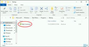 Delete QuickBooks Web Connector