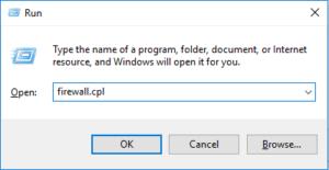 Windows Firewall Command