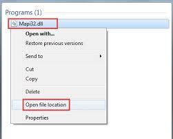 Search Mapi32 file